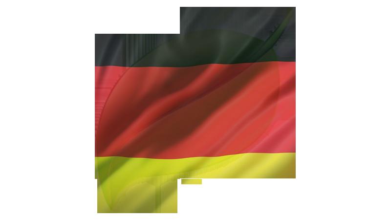 German Flag Genealogy Leaf